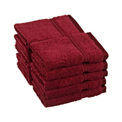 600 GSM 10-Piece Long Staple Combed Cotton Face Towel Set