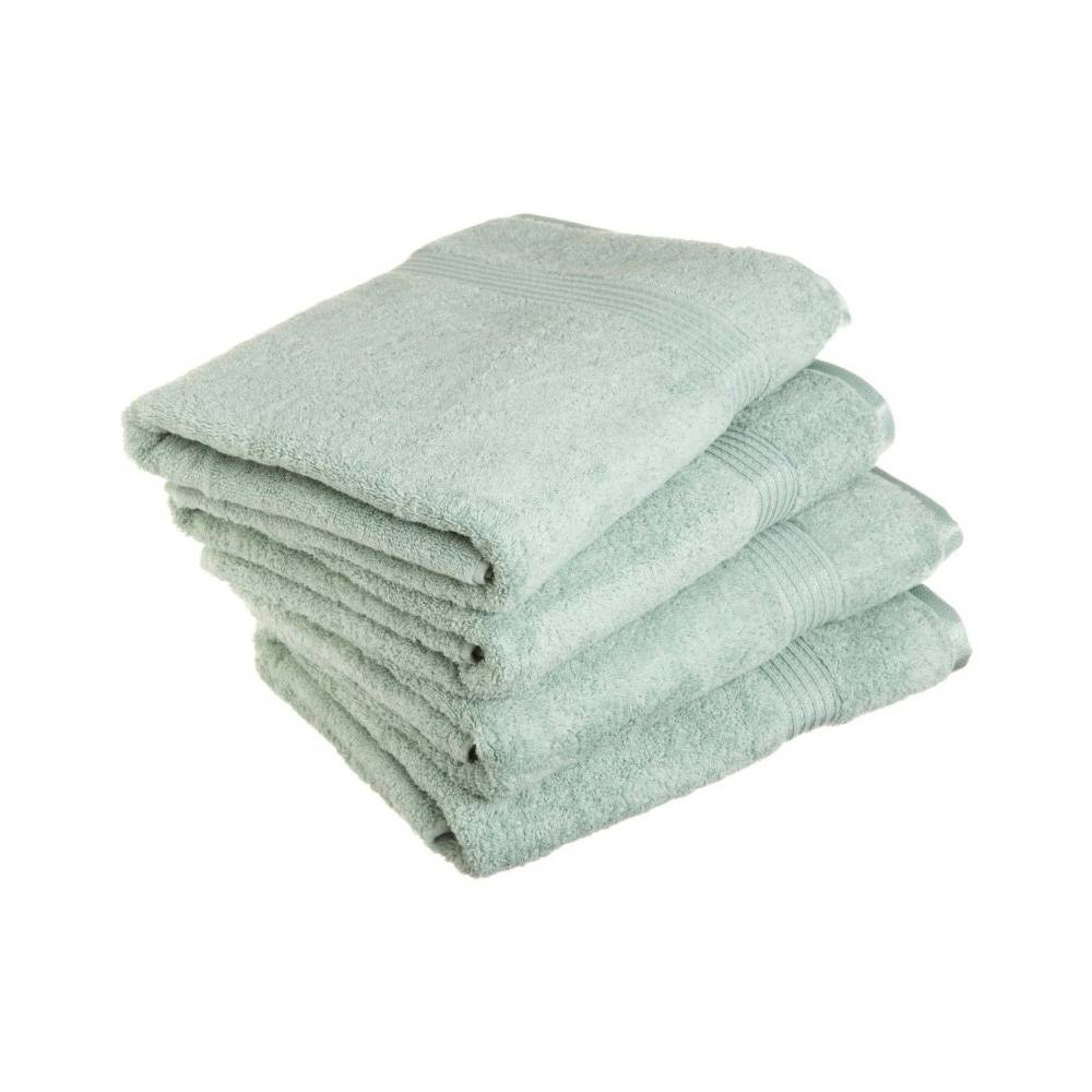 600 GSM 4-Piece Long Staple Combed Cotton Bath Towel Set