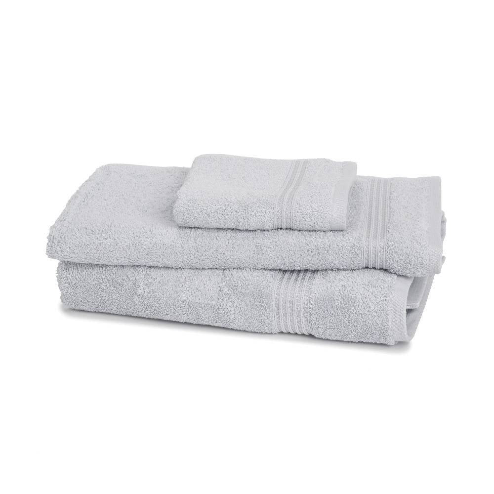 600 GSM 3-Piece Long Staple Combed Cotton Towel Set