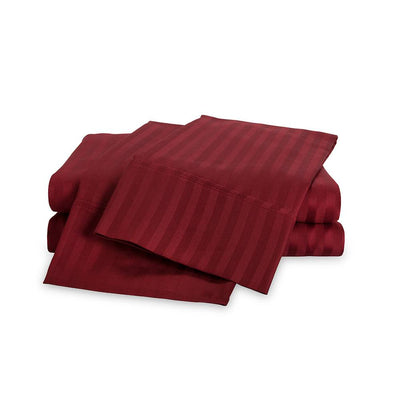 650 Thread Count Egyptian Cotton Striped Sheet Set