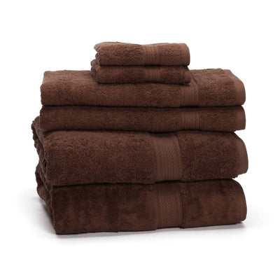 900 GSM 6-Piece Long Staple Combed Cotton Towel Set