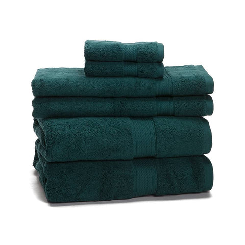 900 Gram 6-Piece Egyptian Cotton Towel Set