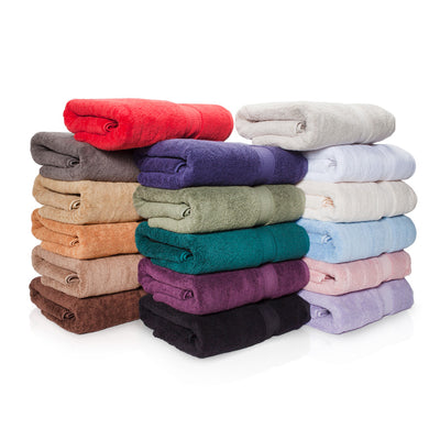 900 GSM 3-Piece Long Staple Combed Cotton Towel Set