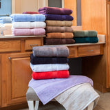 900 GSM 8-Piece Long Staple Combed Cotton Towel Set