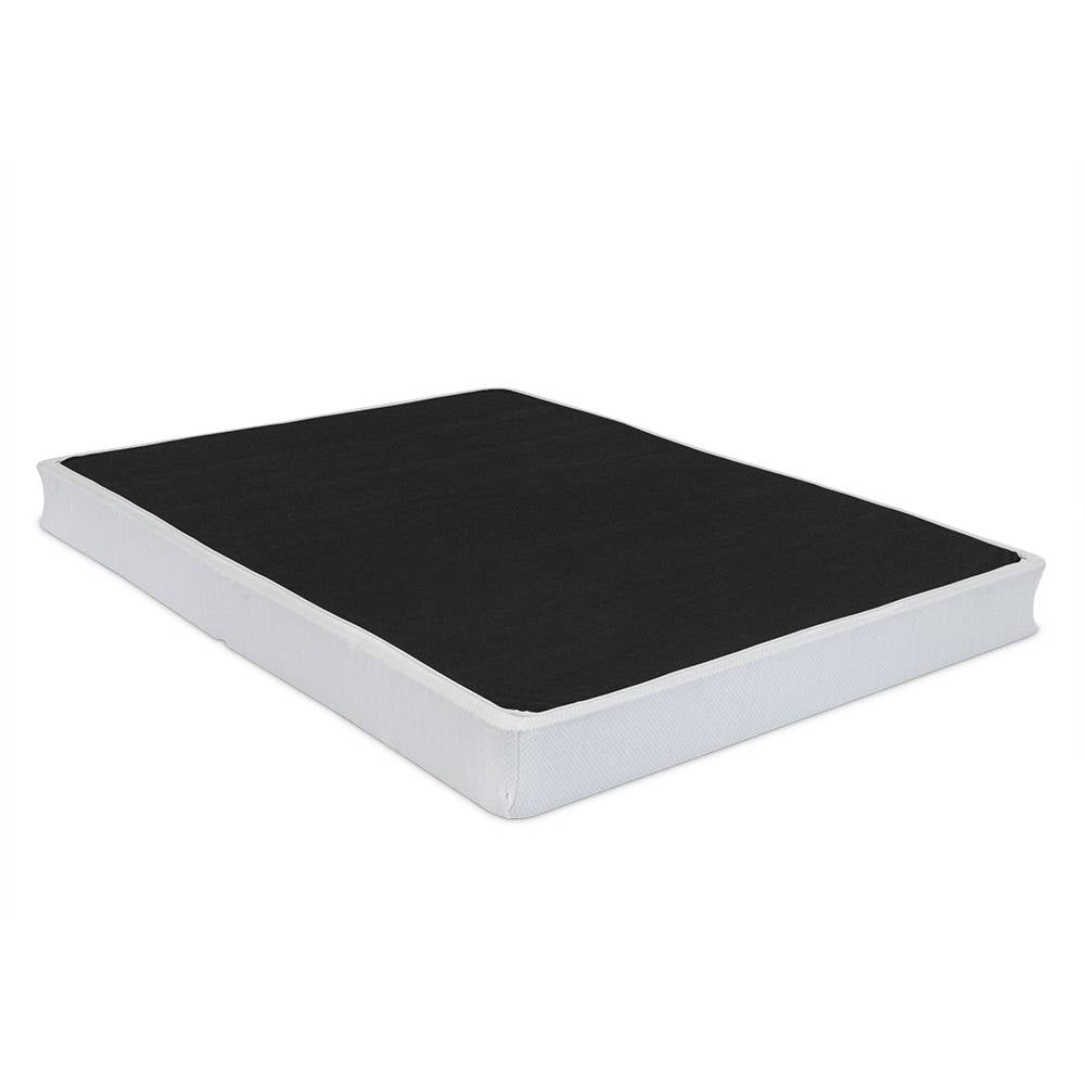 Simple life fully assembled mattress box foundation eluxury for Average lifespan of a mattress