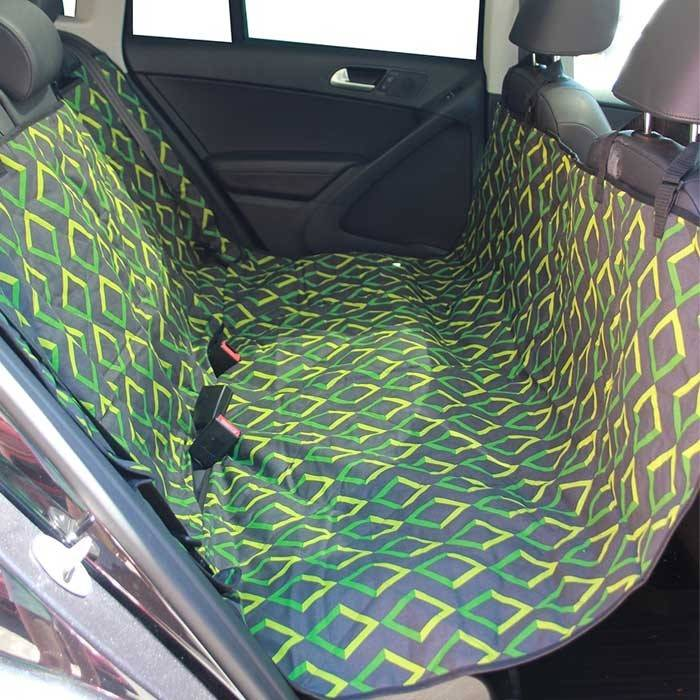 Adjustable Pet Car Seat Cover - Back Seat & Cargo Area Protector