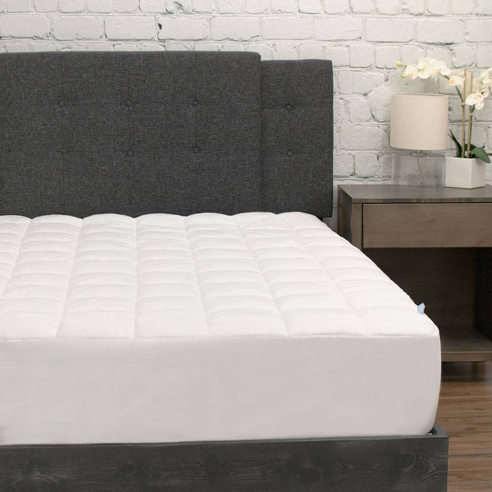 Plush Mattress Cover with Deep Fitted Skirt