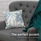 100% Cotton Decorative Throw Pillow - 6 Styles Available