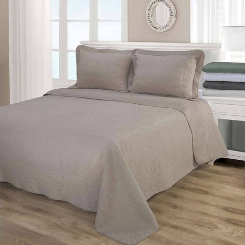 100% Cotton 3-Piece Corrington Quilt Set