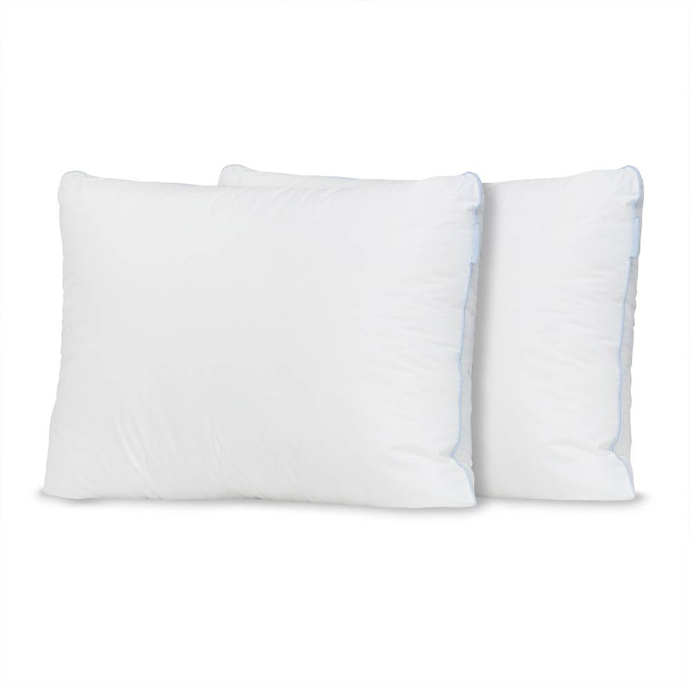 Two (2) Premium Overstuffed Down Alternative Pillows