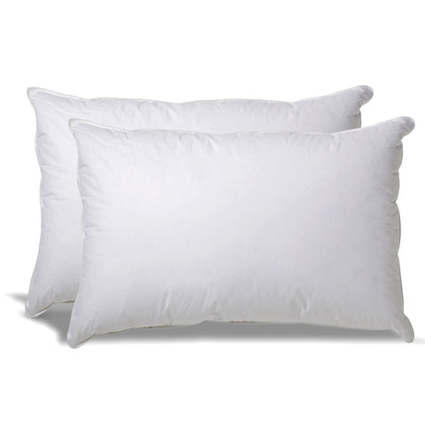 Down Alternative Hypoallergenic Pillow for Side/Back Sleepers with Revoloft™ Fill - Set of 2