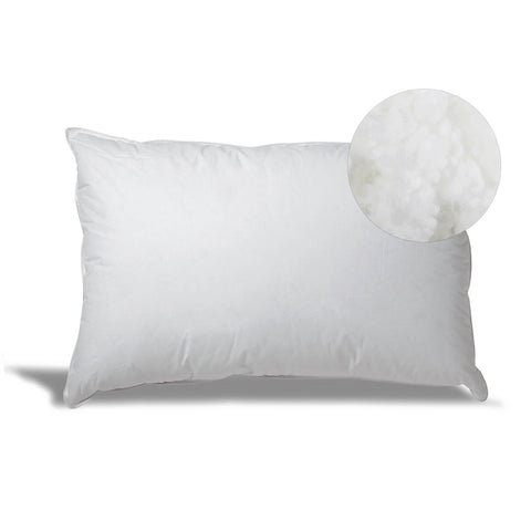 Down Alternative Hypoallergenic Pillow for Side/Back Sleepers with Revoloft™ Fill