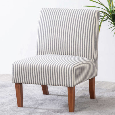 Armless Slipper Accent Chair