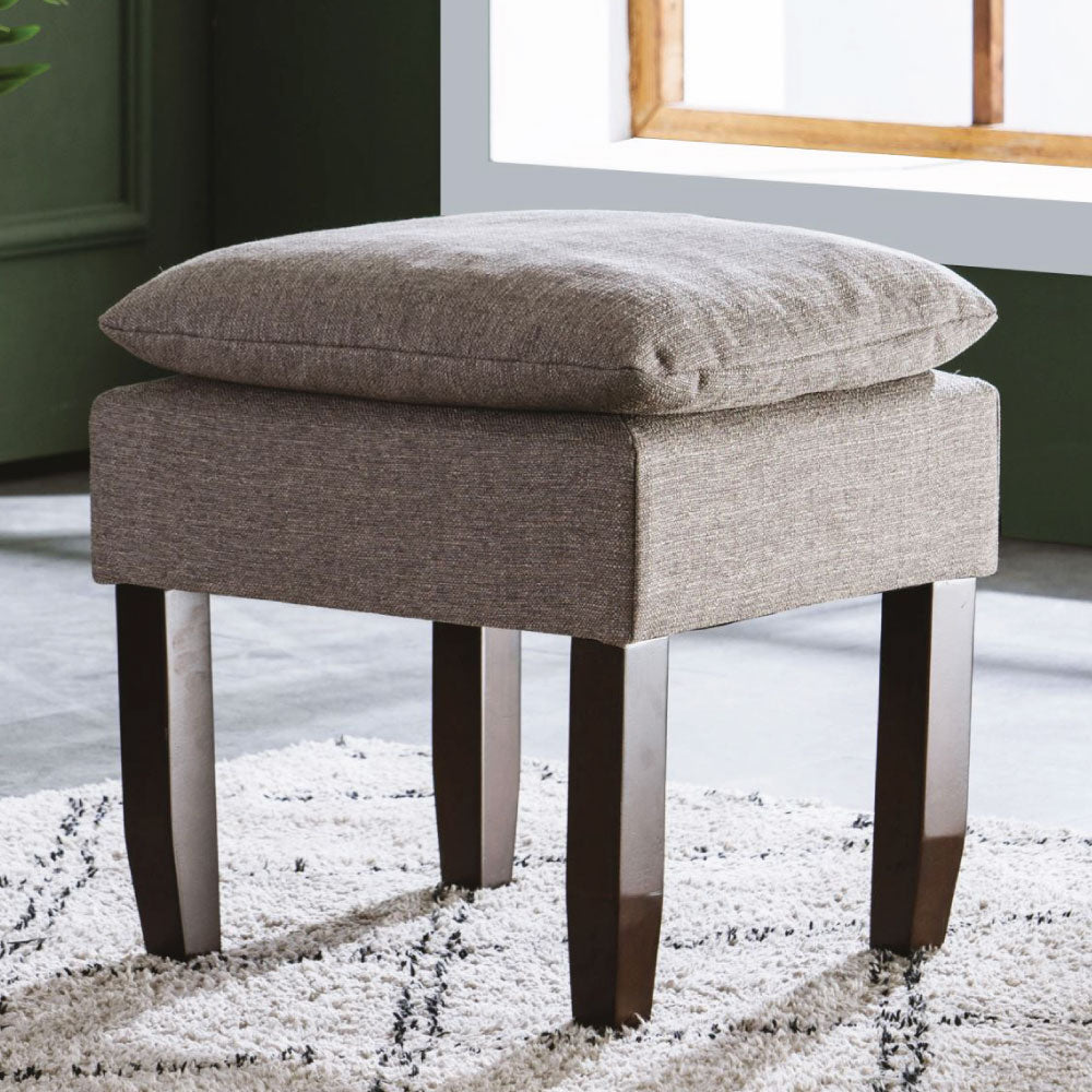 Modern Pillow-Top Ottoman