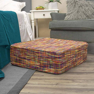 Square Floor Cushion - Plush Foam Seat for Kids or Adults