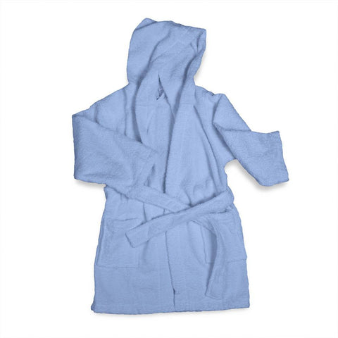 Kid's Egyptian Cotton Terry Cloth Robe