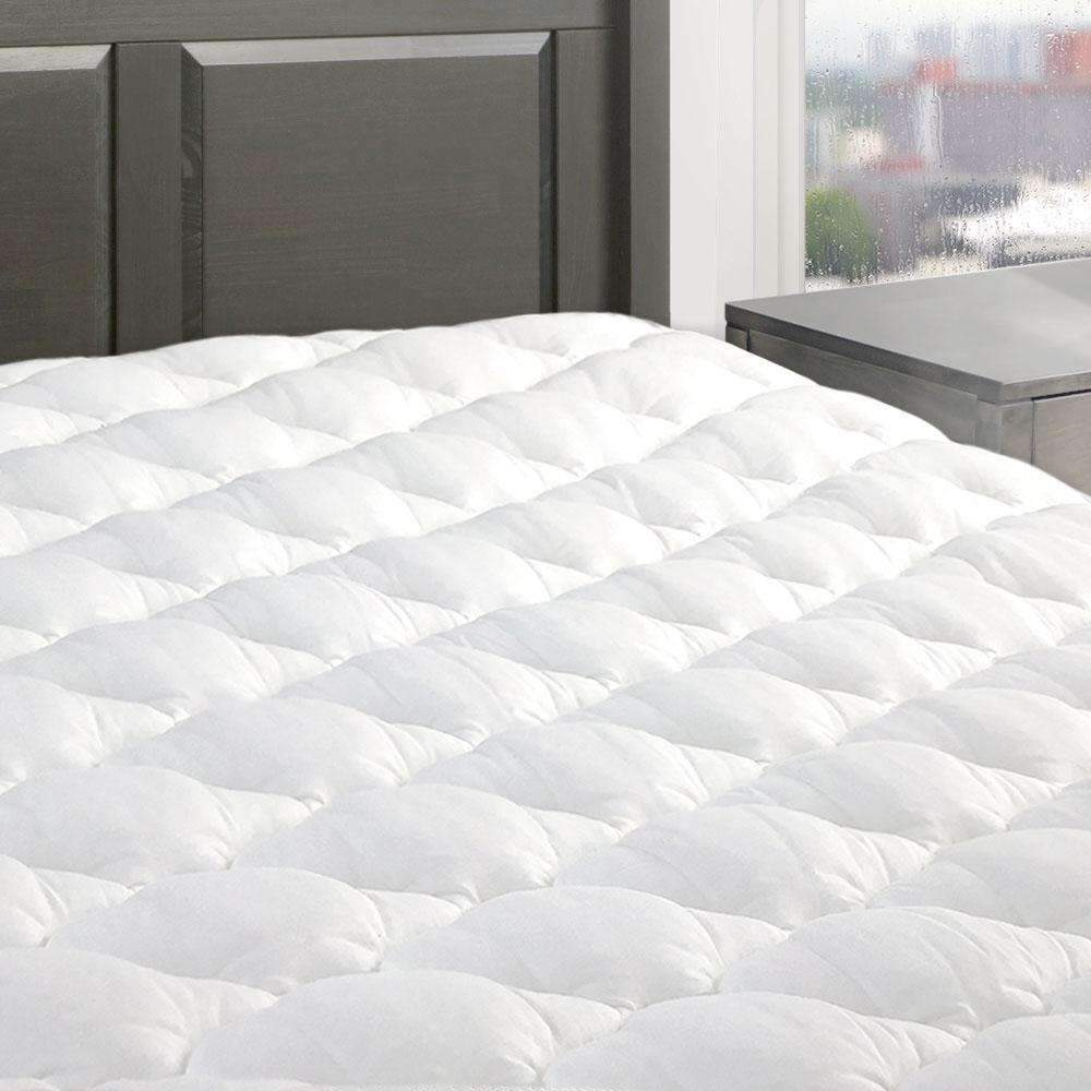 Five Star Mattress Pad With Fitted Skirt Made In The Usa