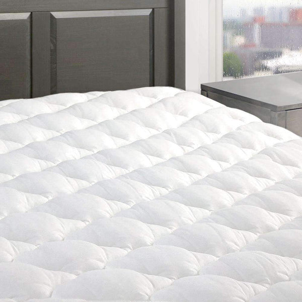Five Star Mattress Pad with Fitted Skirt - Made in the USA
