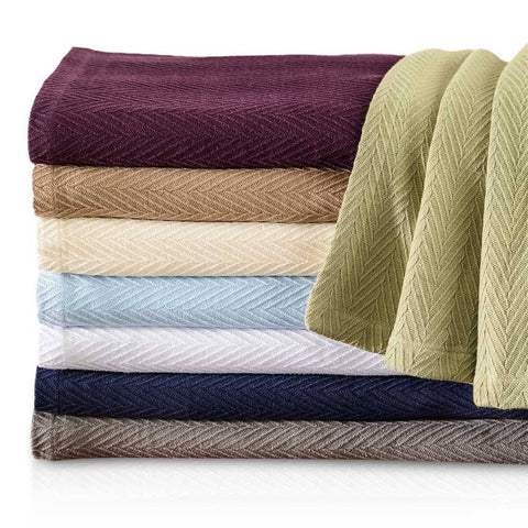 100% Cotton All Season Luxury Metro Blanket