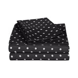 600 Thread Count Cotton Rich Polka Dot Sheet Set