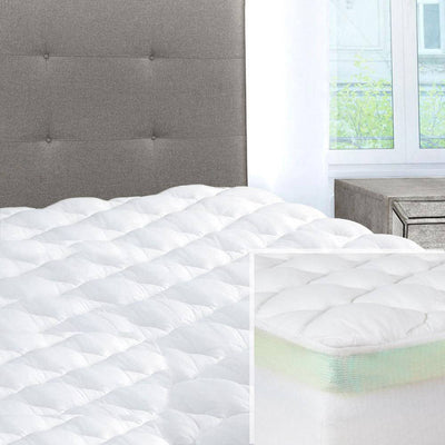 Double Thick 2-Piece Mattress Pad & Comfort Topper