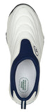 Propet Men Wash & Wear Slip On II M3850 (White/Navy)