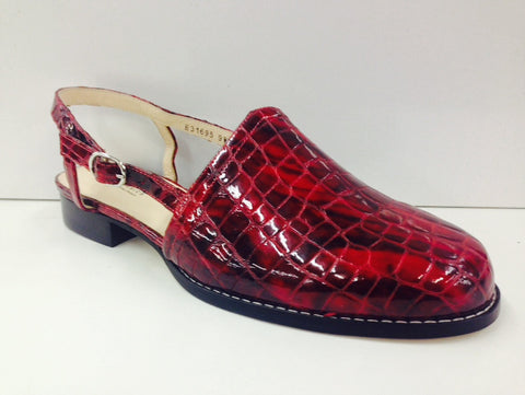 Ros Hommerson Cathleen Red Croc (Slingshot) - Simply Wide - 1