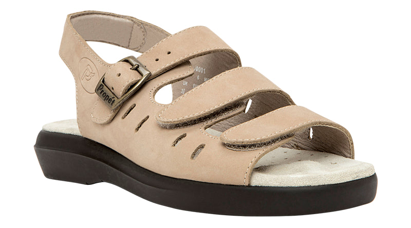 Propet Breeze  W0001 (Dusty Taupe Nubuck)