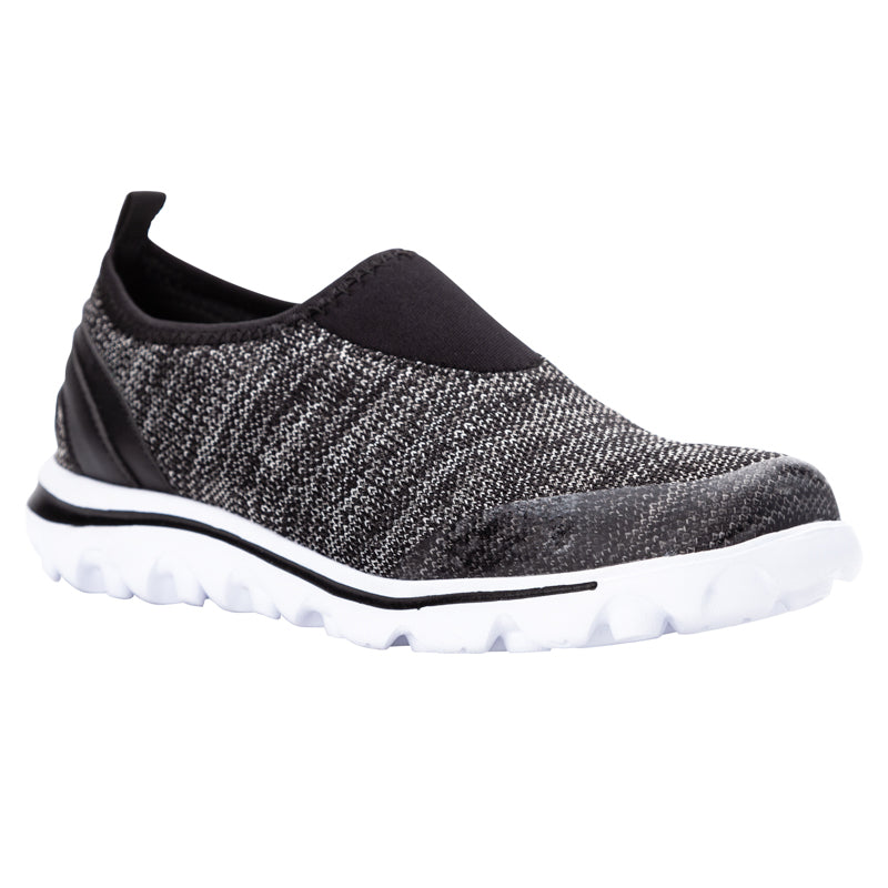Propet TravelActive Slip-On W5104 (Black Heather)