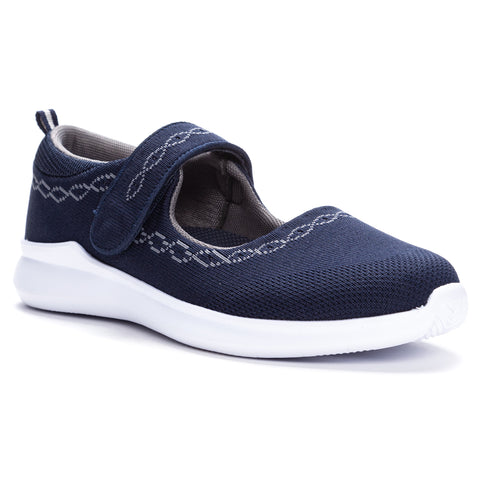 Propet TravelBound Mary Jane WAA053M (Navy)