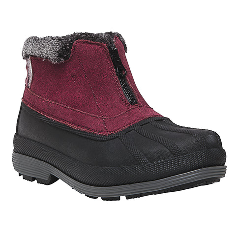 Lumi Ankle Zip WBX012S (Berry)