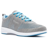 Propet Washable Walker Evolution WCS012M (Light Grey/Light Blue)