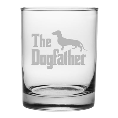 The Dogfather Rocks Glasses (Mixed Set Of Four)