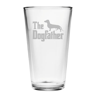 The Dogfather Pint Glasses (Set Of Four)