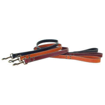 American Classic Vintage Style Leather Dog Leashes