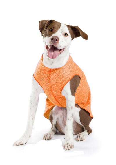 Sun Shield Dog Sun Protection T-shirt - Neon Orange