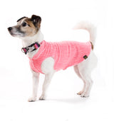 Sun Shield Dog Sun Protection T-shirt - Coral Pink Heather
