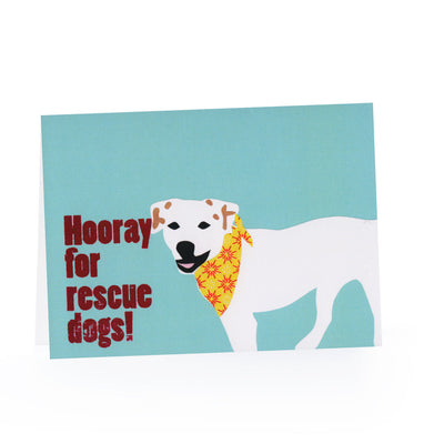 Rescue Dog Blank Card