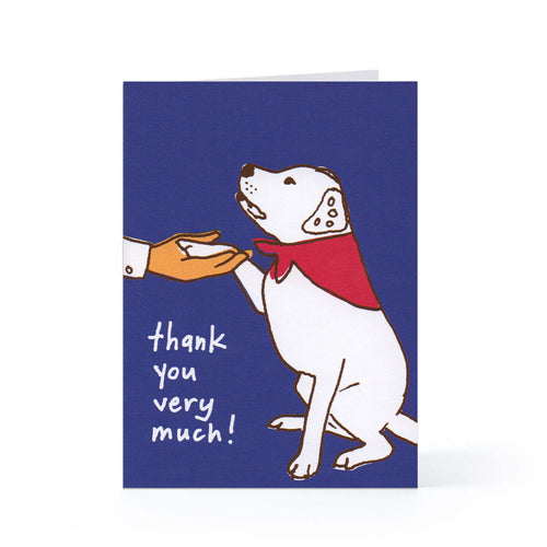 Thank You Blank Card Set (Good Dog) - 6 pack