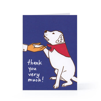 Thank You Blank Card (Good Dog)