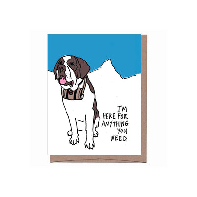 Thinking of You Card (St. Bernard)