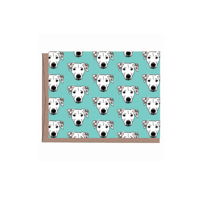 Dog Heads Mini Note Cards (Blank) - 6 Pack