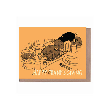 Happy Thanksgiving Card (Naughty Dog)