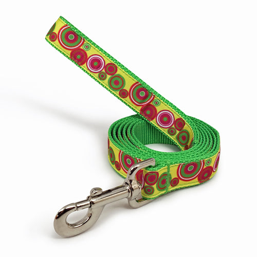 Rita Bean Dog Leash - Groovy Dots