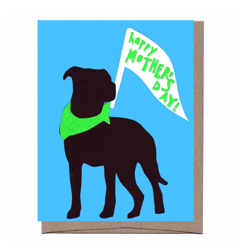 Happy Mother's Day Card (Dog)