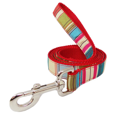 Rita Bean Dog Leash - Mod Stripe