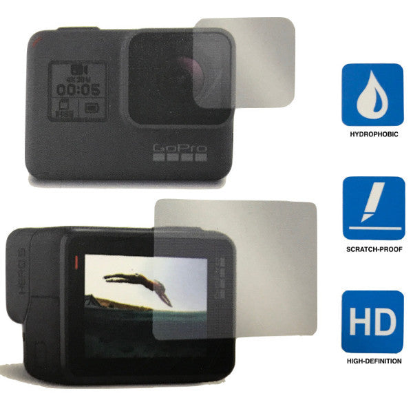 Screen Protector Kit for GoPro Hero5 Black