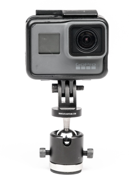 Airplane Exterior Ball-Head Camera Mount