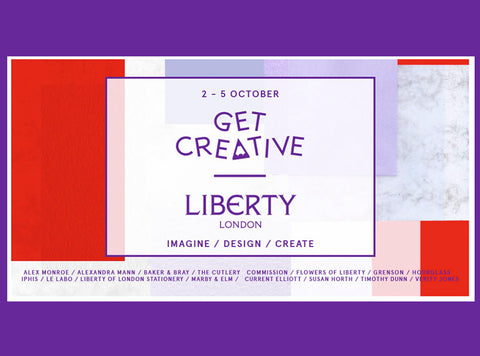 Liberty London's Get Creative Event