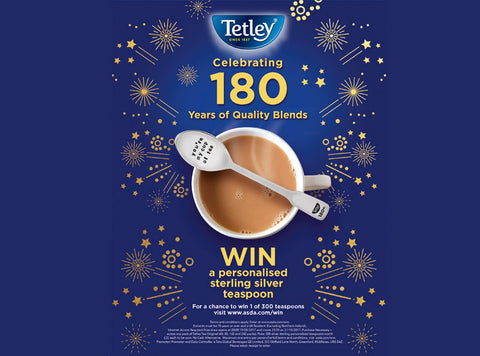 Win a Personalised Spoon with Tetley!
